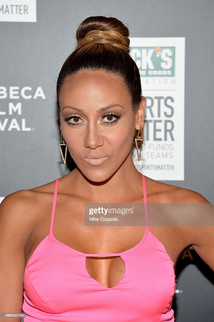 Melissa Gorga attends the Dick's Sporting Goods 'We Could Be King' Premiere during the 2014 Tribeca Film Festival at Sunshine Landmark on April 23, 2014 in New York City.