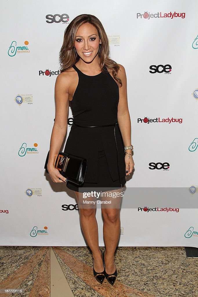 Melissa Gorga attends the 'Goddess Night Out' event benefiting Project Lady Bug hosted by Dina Manzo on November 11, 2013 in Garfield, New Jersey.