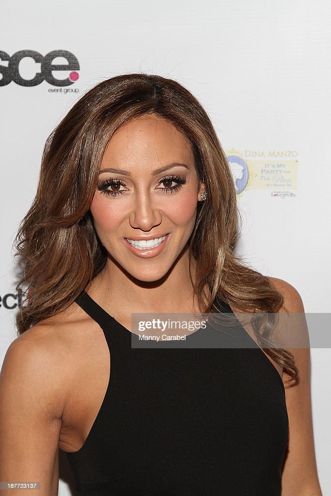 <a gi-track='captionPersonalityLinkClicked' href=/galleries/search?phrase=Melissa+Gorga&family=editorial&specificpeople=7306775 ng-click='$event.stopPropagation()'>Melissa Gorga</a> attends the 'Goddess Night Out' event benefiting Project Lady Bug hosted by Dina Manzo on November 11, 2013 in Garfield, New Jersey.