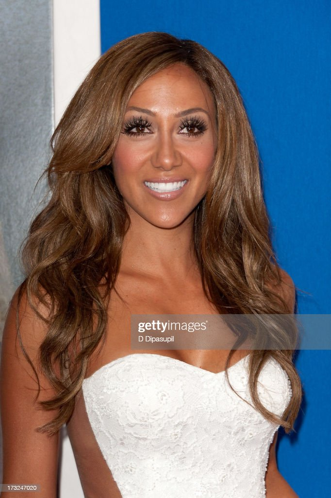 Melissa Gorga attends the 'Grown Ups 2' New York Premiere at AMC Lincoln Square Theater on July 10, 2013 in New York City.