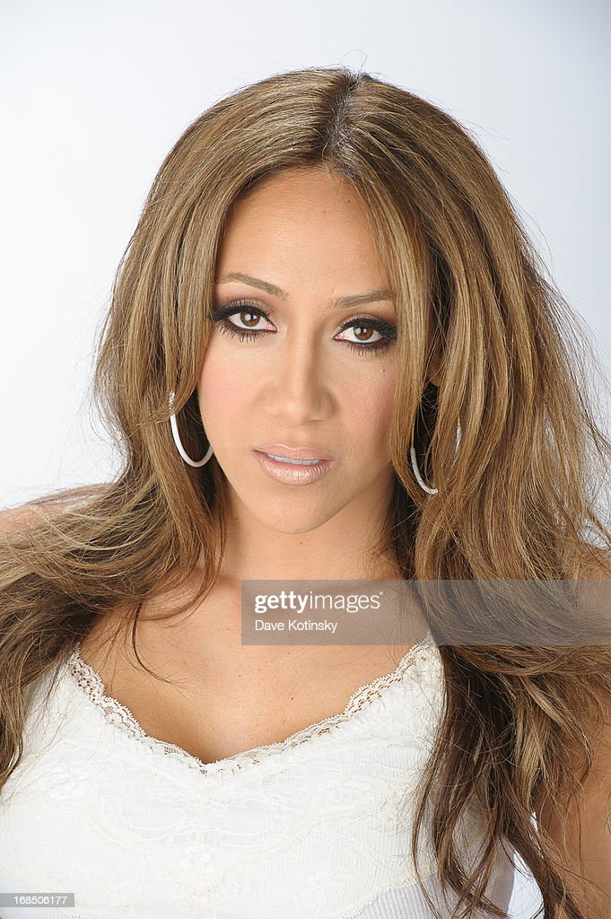 Melissa Gorga from 'Real Housewives of New Jersey' poses during a portrait session on May 10 2013 in Little Falls New Jersey