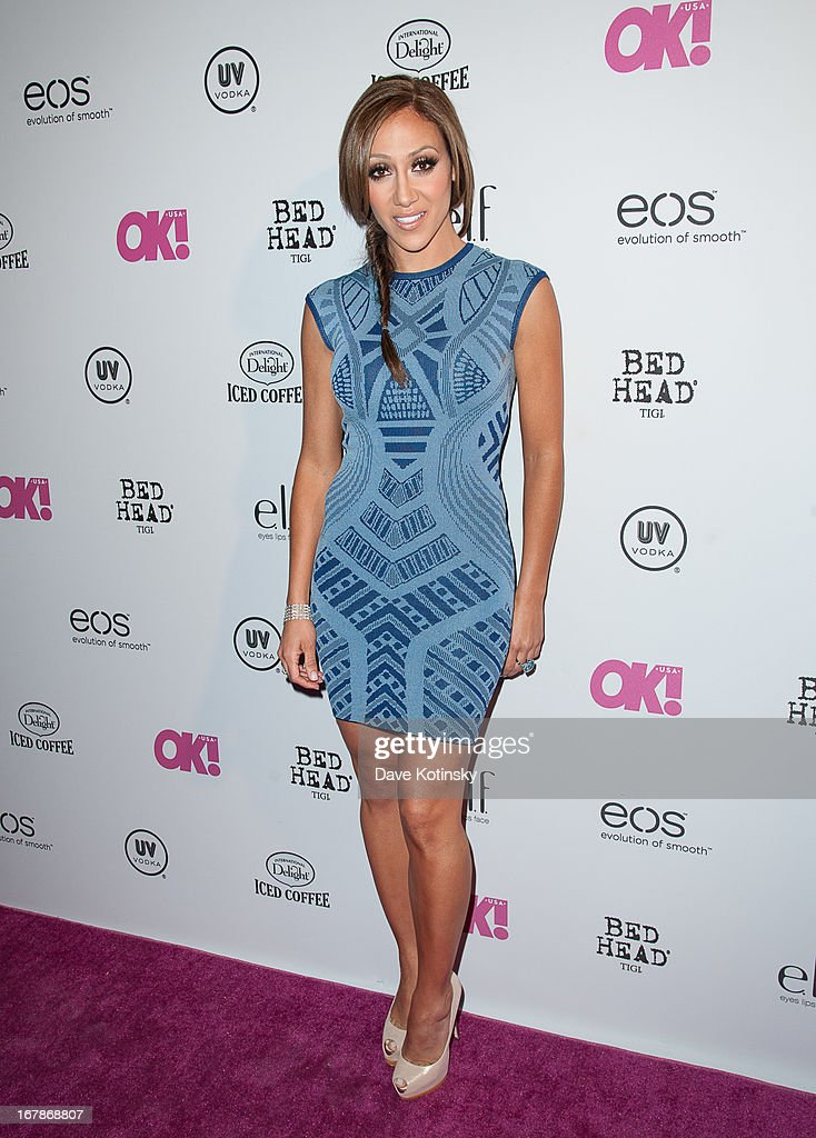 Melissa Gorgs attends OK! Magazine 'So Sexy' Party at Marquee on May 1, 2013 in New York City.