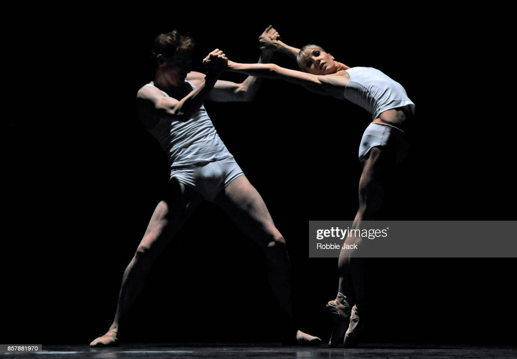 Melissa Hamilton and Edward Watson in the Royal Ballet's production Qualia at Hull New Theatre on September 15, 2017 in Hull, England.