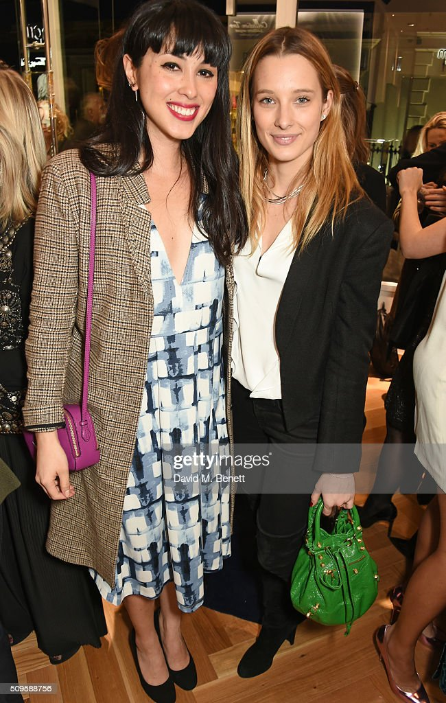 <a gi-track='captionPersonalityLinkClicked' href=/galleries/search?phrase=Melissa+Hemsley&family=editorial&specificpeople=13482660 ng-click='$event.stopPropagation()'>Melissa Hemsley</a> (L) and Ilona Smet attend the APM Monaco flagship store opening on South Molton Street on February 11, 2016 in London, England.