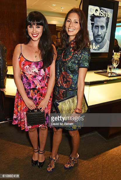 Melissa Hemsley and Jasmine Hemsley attend the Tiffany Co and GQ Style celebration of the Autumn/Winter issue of GQ Style and the iconic Tiffany CT60...