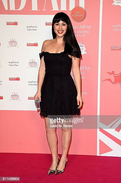 Melissa Hemsley at The Naked Heart Foundation's Fabulous Fund Fair in London at Old Billingsgate Market on February 20 2016 in London England