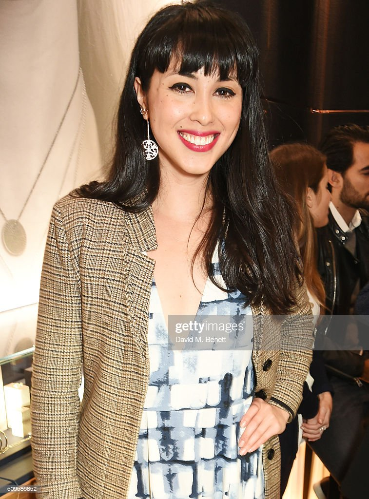 Melissa Hemsley attends the APM Monaco flagship store opening on South Molton Street on February 11, 2016 in London, England.