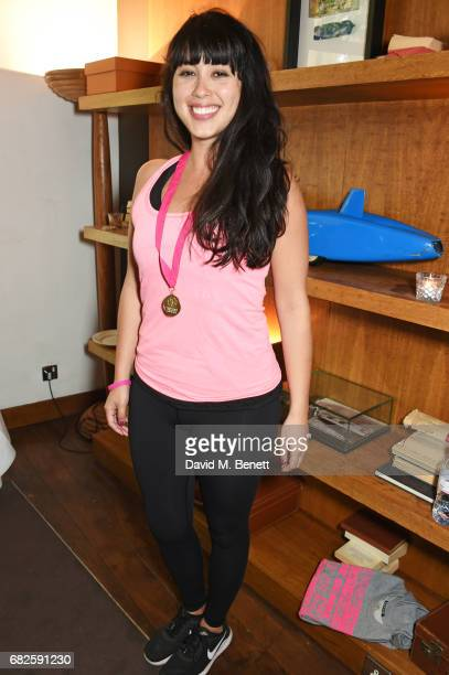 Melissa Hemsley attends the Lady Garden brunch following the 5K 10K Fun Run in aid of Silent No More Gynaecological Cancer Fund at Bluebird on May 13...