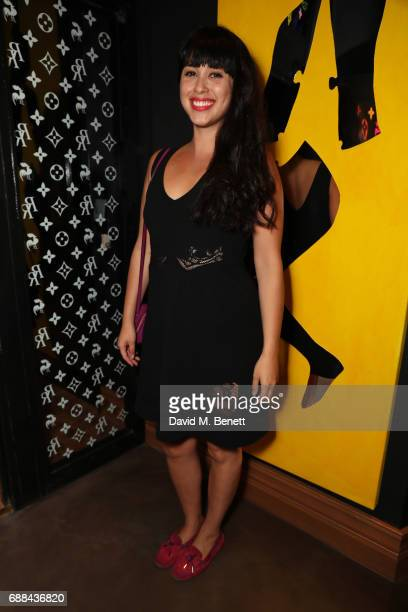 Melissa Hemsley attends the launch of new restaurant 'Red Rooster' at The Curtain on May 25 2017 in London England