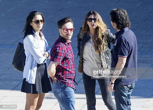 Melissa Jimenez and Pablo Nieto are is seen on April 2 2014 in Madrid Spain
