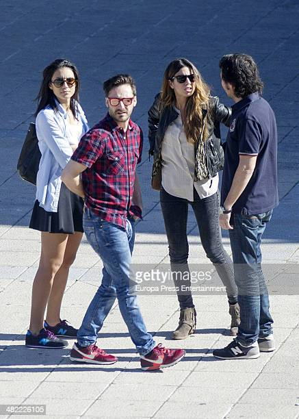 Melissa Jimenez and Pablo Nieto are seen on April 2 2014 in Madrid Spain