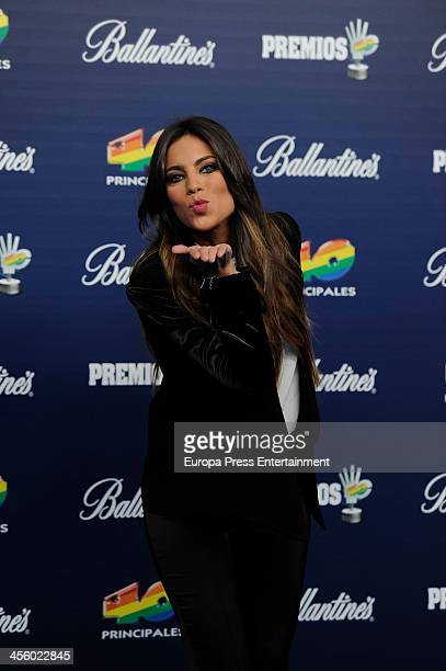 Melissa Jimenez attend '40 Principales Award' Gala at Palacio de los Deportes on December 12 2013 in Madrid Spain