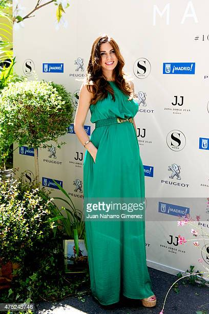 Melissa Jimenez attends 'Flower Market' photocall at Jorge Juan Street on May 30 2015 in Madrid Spain