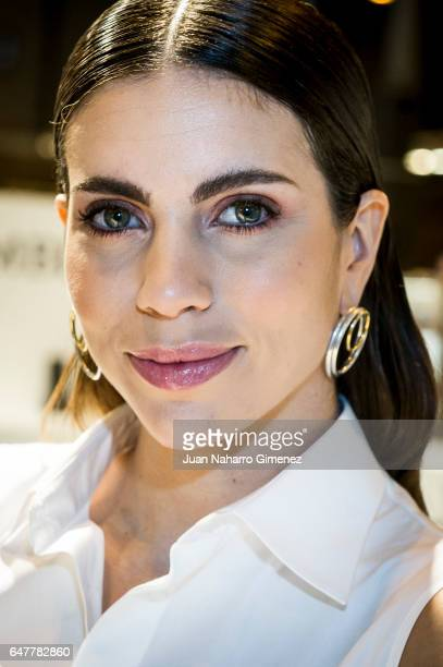 Melissa Jimenez attends 'Lumberjack Shoes' presentation during MOMAD SHOES Fair at Ifema on March 4 2017 in Madrid Spain