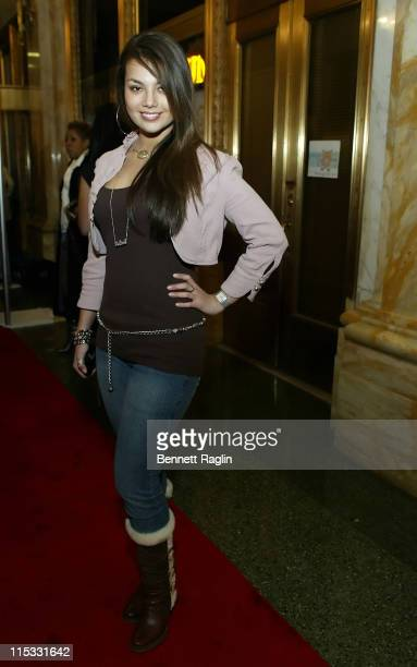 Melissa Jimenez during Vibe Magazine 150th Issue Party Hosted by Ciroc Vodka and Toyota Arrivals at Cipriani's in New York New York United States