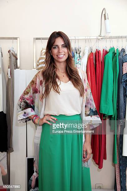 Melissa Jimenez is the new image for the clothes firm Alba Conde on June 12 2014 in Madrid Spain