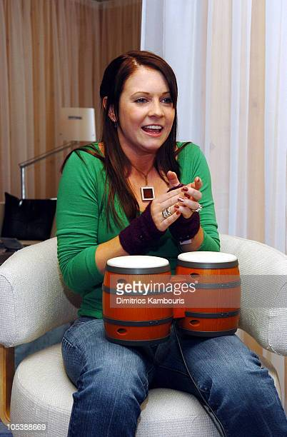 Melissa Joan Hart at Nintendo during 2005 Park City Motorola Lodge at Motorola Lodge in Park City Utah United States