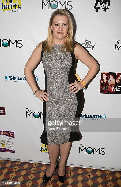 Melissa Joan Hart attends Mother's Day Mamarazzi Breakfast Celebration at Artisanal Fromagerie Bistro on April 29 2015 in New York City