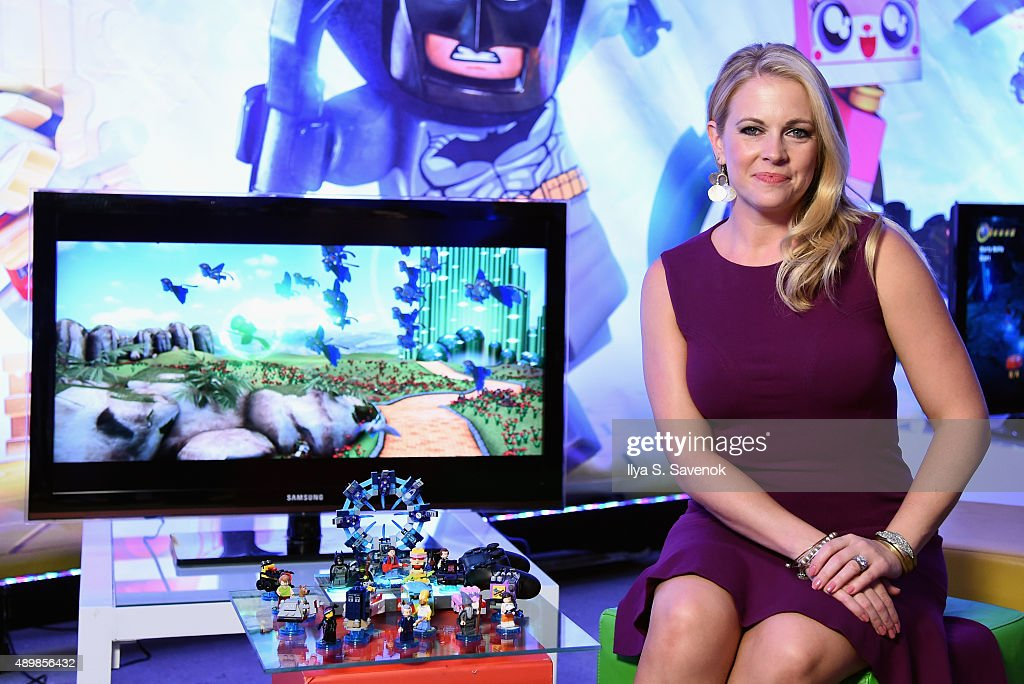 Melissa Joan Hart attends the launch party of LEGO Dimensions, the new toys for life, on September 24, 2015 in New York City.