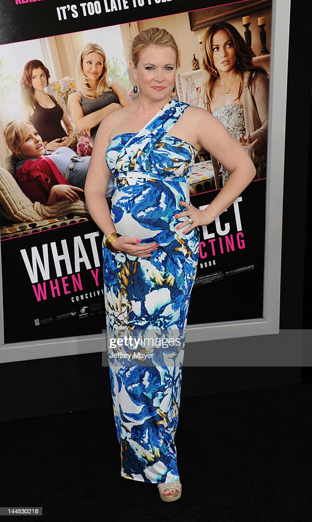 Melissa Joan Hart attends the Los Angeles premiere of 'What To Expect When You're Expecting' at Grauman's Chinese Theatre on May 14, 2012 in Hollywood, California.