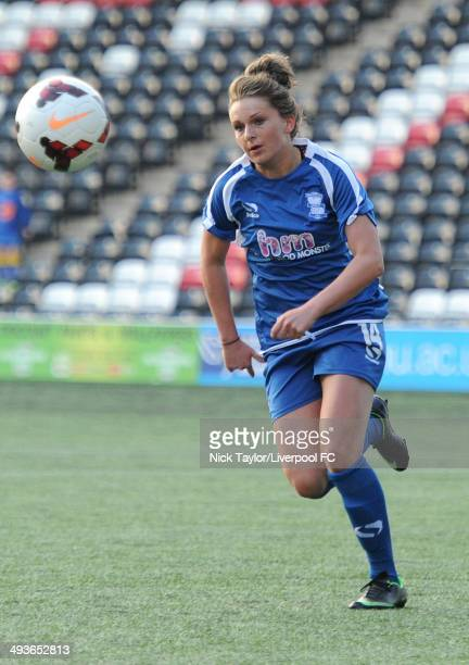 Melissa Lawley of Birmingham City Ladies in action during the FAWSL fixture between Liverpool Ladies and Birmingham City Ladies at Select Security...