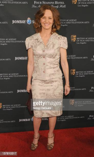 Melissa Leo arrives at the 17th Annual BAFTA Los Angeles Awards Season Tea Party at the Four Seasons Hotel on January 15 2011 in Los Angeles...