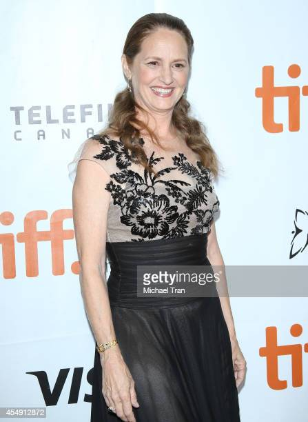 Melissa Leo arrives at the premiere of during the 2014 Toronto International Film Festival Day 4 on September 7 2014 in Toronto Canada