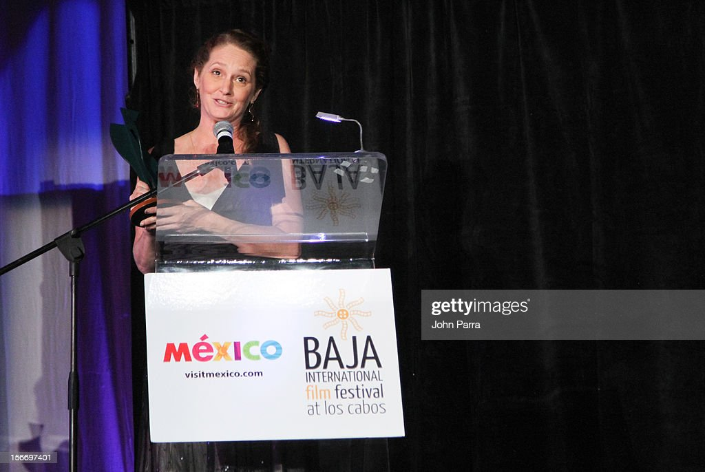 <a gi-track='captionPersonalityLinkClicked' href=/galleries/search?phrase=Melissa+Leo&family=editorial&specificpeople=2083907 ng-click='$event.stopPropagation()'>Melissa Leo</a> attends the Closing Night Gala during the Baja International Film Festival at Los Cabos Convention Center on November 17, 2012 in Cabo San Lucas, Mexico.