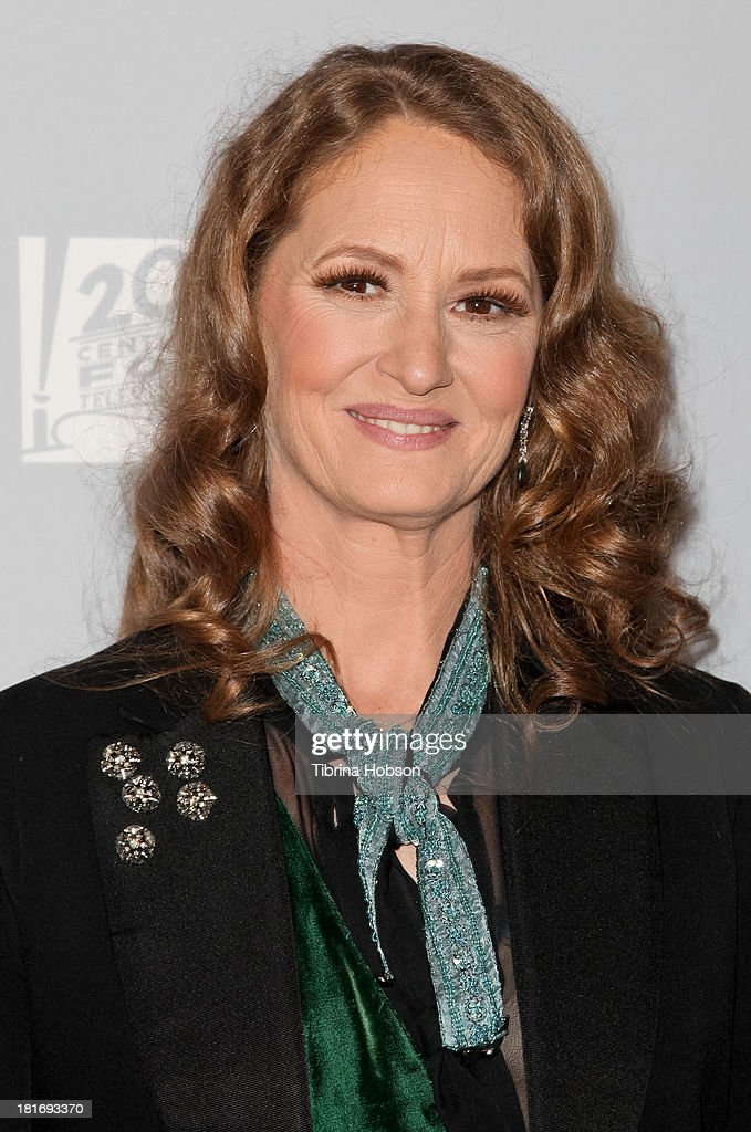 <a gi-track='captionPersonalityLinkClicked' href=/galleries/search?phrase=Melissa+Leo&family=editorial&specificpeople=2083907 ng-click='$event.stopPropagation()'>Melissa Leo</a> attends the Twentieth Century FOX Television and FX Emmy Party at Soleto on September 22, 2013 in Los Angeles, California.