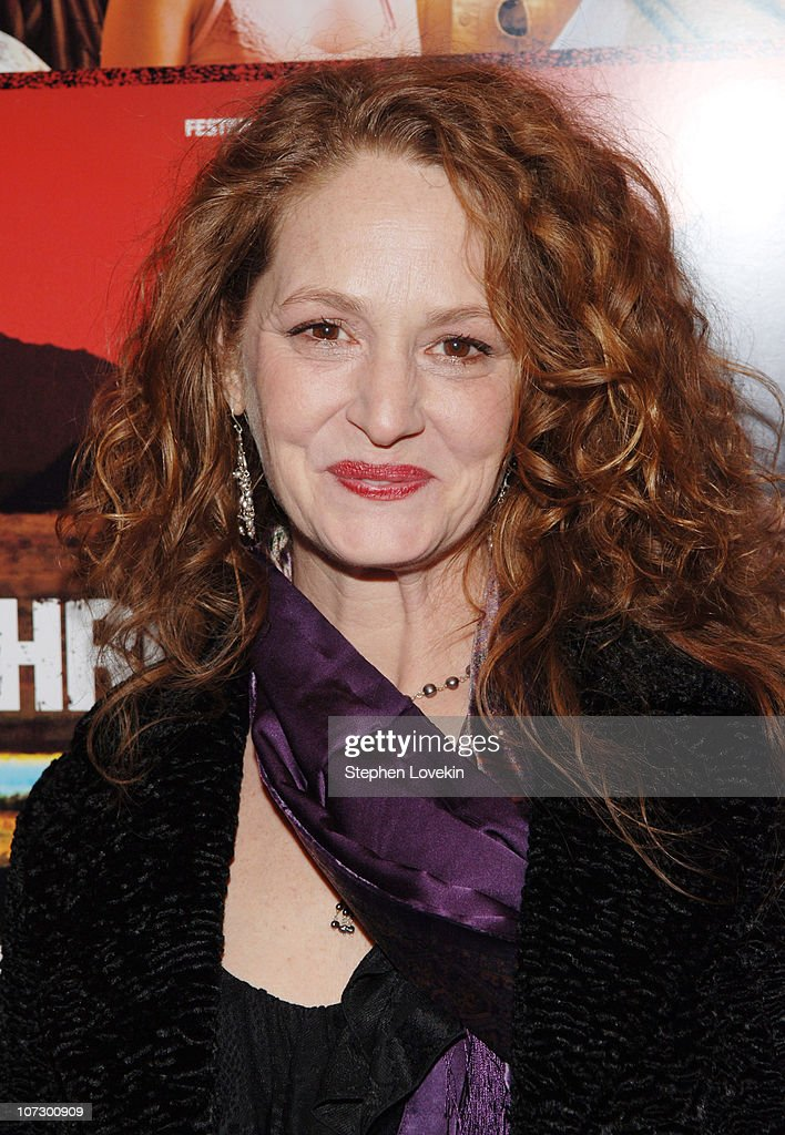Melissa Leo during 'The Three Burials of Melquiades Estrada' New York City Premiere - Inside Arrivals at The Paris Theatre in New York City, New York, United States.