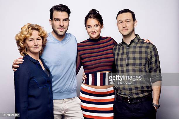 Melissa Leo Zachary Quinto Shailene Woodley and Joseph GordonLevitt of the film 'Snowden' pose for a portraits at the Toronto International Film...