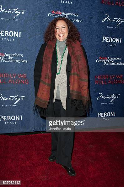 Melissa Manchester arrives at the Opening Night of 'Merrily We Roll Along' at the Wallis Annenberg Center for the Performing Arts on November 30 2016...