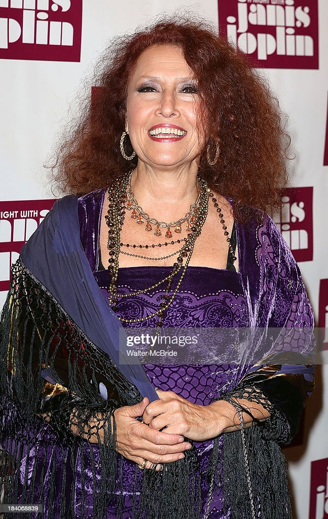<a gi-track='captionPersonalityLinkClicked' href=/galleries/search?phrase=Melissa+Manchester&family=editorial&specificpeople=226805 ng-click='$event.stopPropagation()'>Melissa Manchester</a> attends the broadway opening night of 'A Night With Janis Joplin' at Lyceum Theatre on October 10, 2013 in New York City.