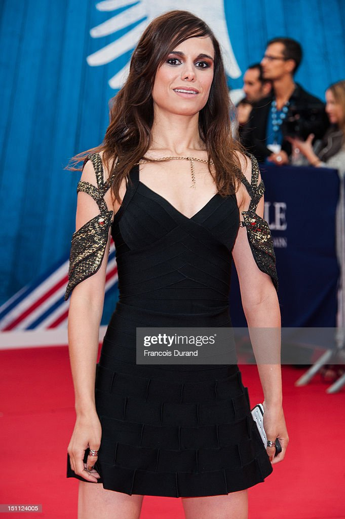 Melissa Mars arrives for the premiere of the film 'The Bourne Legacy' during 38th Deauville American Film Festival on September 1, 2012 in Deauville, France.
