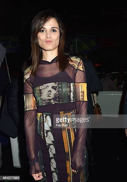 Melissa Mars attends the 'Balsao WareHouse' Party At Docks De Paris Aubervilliers on April 10 2014 in Paris France