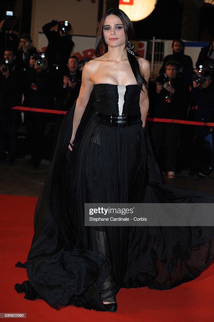 Melissa Mars attends the NRJ Music Awards 2011 at the 'Palais des Festivals et des Congres' in Cannes.