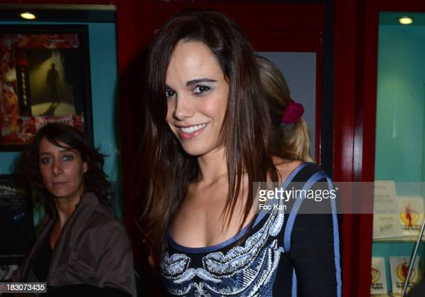 Melissa Mars attends the Spamalot Generale at Bobino on October 3 2013 in Paris France