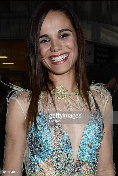 Melissa Marsattend the Christophe Guillarme after party during Paris Fashion Week Womenswear Spring/Summer 2014 at garage Renault Amelot on September...