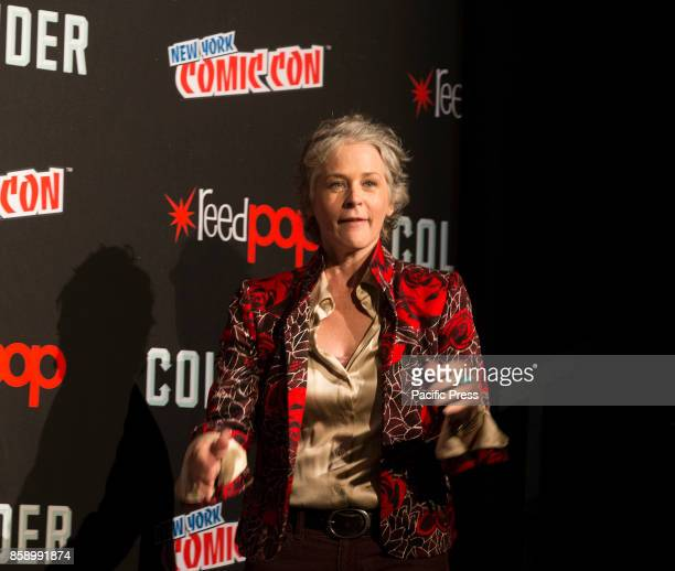 Melissa McBride attends The Walking Dead panel at The Theater at Madison Square Garden during Comic Con 2017