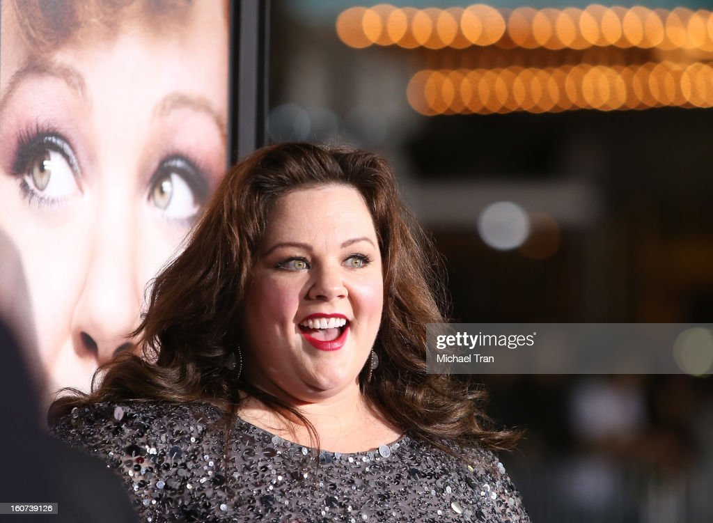 <a gi-track='captionPersonalityLinkClicked' href=/galleries/search?phrase=Melissa+McCarthy&family=editorial&specificpeople=880291 ng-click='$event.stopPropagation()'>Melissa McCarthy</a> arrives at the Los Angeles premiere of 'Identity Thief' held at Mann Village Theatre on February 4, 2013 in Westwood, California.