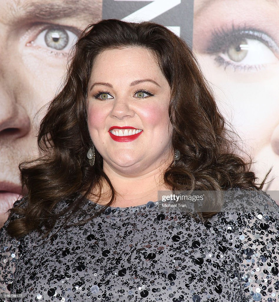 Melissa McCarthy arrives at the Los Angeles premiere of 'Identity Thief' held at Mann Village Theatre on February 4, 2013 in Westwood, California.