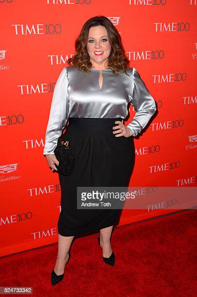 Melissa McCarthy attends the 2016 Time 100 Gala at Frederick P Rose Hall Jazz at Lincoln Center on April 26 2016 in New York City