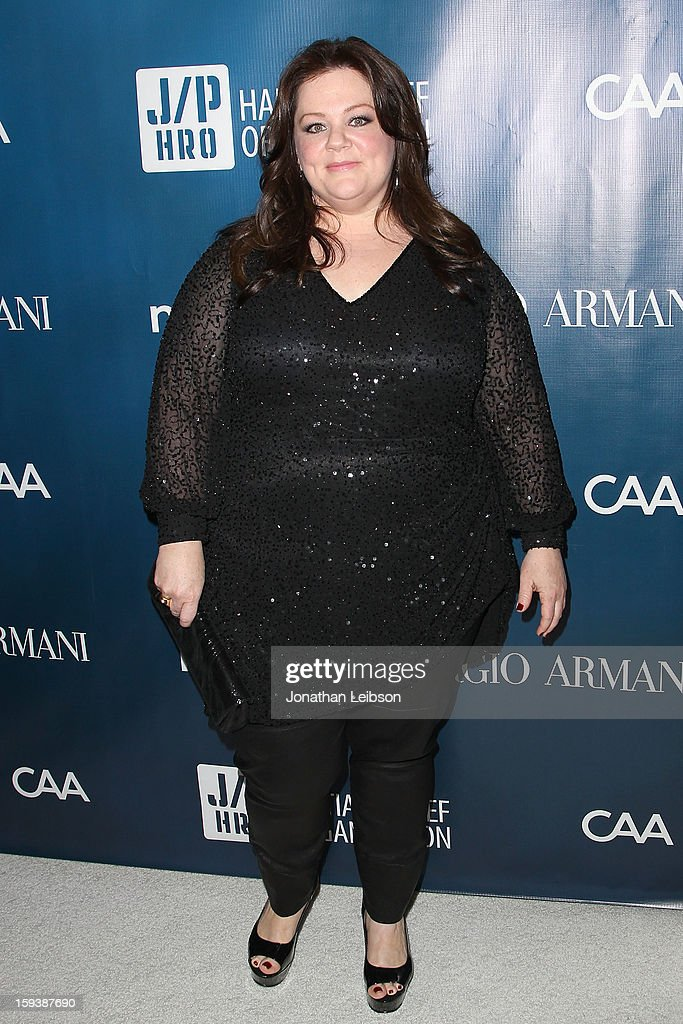 <a gi-track='captionPersonalityLinkClicked' href=/galleries/search?phrase=Melissa+McCarthy&family=editorial&specificpeople=880291 ng-click='$event.stopPropagation()'>Melissa McCarthy</a> attends the 2nd Annual Sean Penn & Friends Help Haiti Home Presented By Giorgio Armani - A Gala To Benefit J/P HRO - Arrivals at Montage Beverly Hills on January 12, 2013 in Beverly Hills, California.