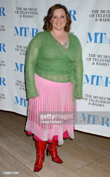 Melissa McCarthy during 'Gilmore Girls' 100th Episode Celebration Presented by The Museum of Television Radio at The Museum of Television Radio in...