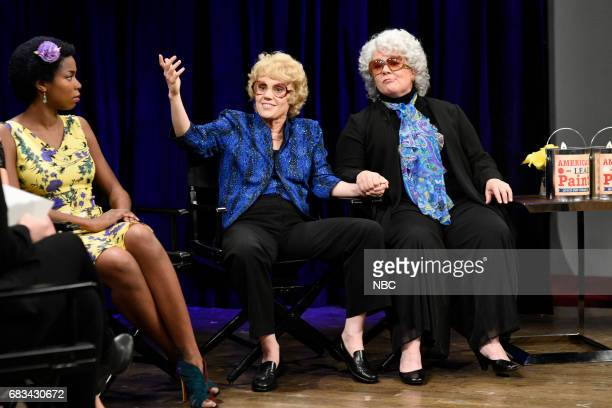 LIVE 'Melissa McCarthy' Episode 1724 Pictured Sasheer Zamata as Lupita Nyong'o Kate McKinnon as Debette Goldry Melissa McCarthy as Gaye Fontaine...