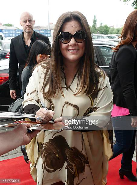 Melissa McCarthy sighted at SAT1 television studios on May 26 2015 in Berlin Germany