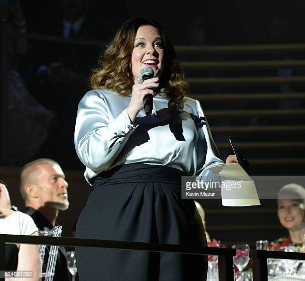 Melissa McCarthy speaks at the 2016 Time 100 Gala Time's Most Influential People In The World at Jazz At Lincoln Center at the Time Warner Center on...