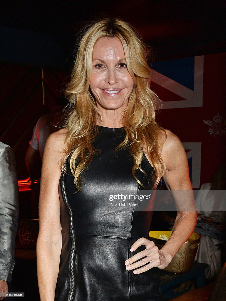 Melissa Odabash attends Jo Wood and Yasmin Mill's Summer Party at Boujis on July 9, 2014 in London, England.