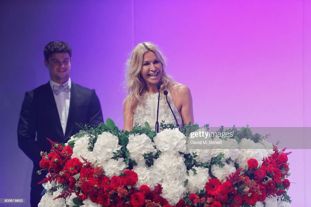 Melissa Odabash attends the Jersey Style Awards 2017 in association with Chopard at The Royal Jersey Showground on June 24, 2017 in Trinity, Jersey.