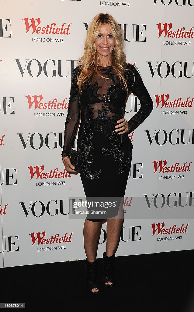 Melissa Odabash attends the launch of the Vogue Pop Up Club as part of Westfield London's 5th birthday celebrations at Westfield on October 30 2013...